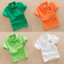 School uniform / school uniform customization Pink blue white yellow red gray green dark blue orange sky blue rose red 100cm 105cm 110cm 115cm 120cm 130cm 140cm 150cm 160cm 165cm neutral Other / other summer college Class B Solid T-shirt cotton other Cotton 95% polyurethane elastic fiber (spandex) 5%