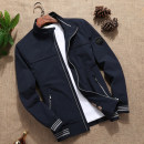 Jacket Jeep shield Youth fashion routine standard Home autumn Polyamide fiber (nylon) 90% polyurethane elastic fiber (spandex) 10% Long sleeves Wear out stand collar American leisure youth routine Zipper placket 2017 Rib hem No iron treatment Closing sleeve Solid color polyester fiber