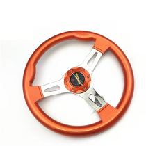 Steering wheel MOMO ABS white 14 inch ABS yellow 14 inch ABS frosted grey 14 inch ABS carbon fiber color 14 inch ABS orange 14 inch ABS Blue 14 inch ABS black 14 inch ABS jujube 14 inch ABS Steering wheel assembly