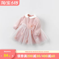 Dress summer Europe and America other other other Class A Zhejiang Province Hangzhou female DAVE&BELLA 12 months, 18 months, 2 years old, 3 years old, 4 years old, 5 years old, 6 years old, 7 years old Other 100% Long sleeve DBM13676 Chinese Mainland 66cm,73cm,80cm,90cm,100cm,110cm,120cm,130cm
