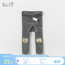Children's socks (0-16 years old) Pantyhose Zhongma ash [spot] Zhongma ash reservation DAVE&BELLA spring and autumn male Class A Other 100% DB13712 Autumn 2020