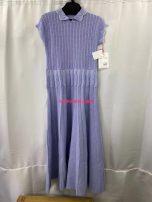 Dress Summer 2020 Size 1 off white nine dress, size 2 snidel grey check s dress, size 3 snidel off white s dress, size 4 furfur purple one size dress Average size