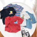 T-shirt Dark night blue, color bar blue, chili red, temperament white, sky blue Other / other Yibiao 73, Yibiao 80, Yibiao 90, Yibiao 100, Yibiao 110, Yibiao 120, Yibiao 130, collection plus purchase and delivery insurance neutral No season Short sleeve Crew neck Korean version No model nothing