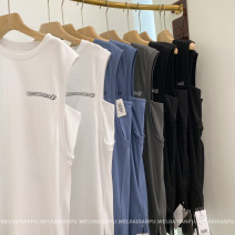 Dress Spring 2021 Fog blue, classic black, rock grey, classic white S,M,L,XL other Home only LYQ0400 More than 95% other cotton