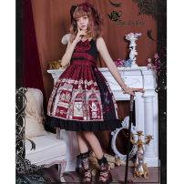 Lolita / soft girl / dress Magic tea party gules S,M,L,XL