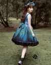 Lolita / soft girl / dress Magic tea party blue S,M,L,XL No season Lolita