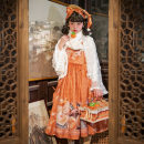 Lolita / soft girl / dress Magic tea party S,M,L Unlimited season, winter, summer, spring, spring and autumn Pre sale Chinese style, classical, Lolita