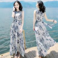 Dress Summer of 2019 Picture color M,L,XL,2XL,3XL