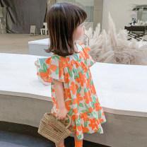 Dress Graph color female Other / other 7(90cm),9(100cm),11(110cm),13(120cm),15(130cm) Other 100% summer Korean version other other 2 years old, 3 years old, 4 years old, 5 years old, 6 years old