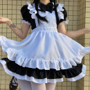 Cosplay women's wear suit goods in stock Over 14 years old JK style Maid Dress Animation, games S,M,L,XL Lovely wind, Maid Dress, Lolita