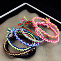 Hair accessories Hair rope 0.01-0.99 yuan Other / other Color 6, color 8 brand new Japan and South Korea Fresh out of the oven other Not inlaid