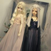 BJD doll zone Dress 1/3 Over 14 years old goods in stock Smellan-Pink,Crystal-Black Pearl show [3 days delivery], excluding pearl embroidery