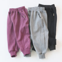 trousers Other / other neutral 100, 110, 120, 130, 140, 90, 150 Black, grey, purple, Navy, grey, Navy, black, purple winter trousers leisure time No model Casual pants Leather belt middle-waisted cotton Don't open the crotch Cotton 95% polyurethane elastic fiber (spandex) 5% Class A pants Qingdao