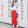 Dress Summer of 2019 White carmine (suit) white (single coat) S M L XL longuette Two piece set Short sleeve commute Crew neck Elastic waist Solid color Pencil skirt routine 25-29 years old Type H Fish surplus Korean version More than 95% other Other 100%