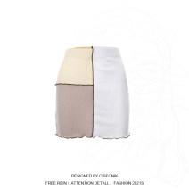 skirt Spring 2021 S,M,L White x21sk128 Short skirt street skirt X21SK128