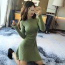 Wool knitwear Winter 2020 Average size Red, green, black Long sleeves singleton  Socket Viscose 30% and below Super short thickening commute Self cultivation other routine Solid color Socket Korean version