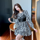 Dress Winter 2020 Picture color S,M,L,XL Two piece set Long sleeves commute Socket Others 25-29 years old Other / other knitting