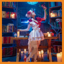 Cosplay women's wear suit Pre sale Over 14 years old game L,M,S caviar Chinese Mainland Lolita The fifth personality Perfumery scarlet bride