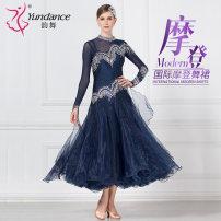 Modern dance suit (including performance clothes) Yundance Waltz Tango Foxtrot female Average size Autumn of 2018
