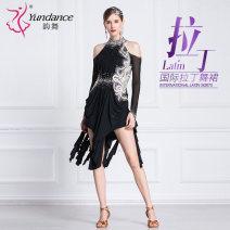 Latin Dance Costume Yundance female Average size Remba Chacha Samba cowboy bullfight Summer of 2019