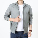 Jacket Fashion City Other / other thin easy summer 2021 new high-end quality windbreaker for middle-aged and old people Long sleeve Polyester 100% Wear out Youthful vitality youth Dad's fashion shows the new year, light and thin clothes are on the outdoor 2021 Handsome and mature M,L,XL,2XL,3XL