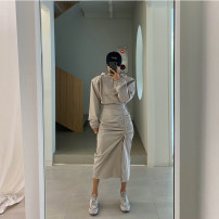 Fashion suit Autumn 2020 Average size White, black, apricot 18-25 years old 30% and below cotton