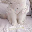 Pet clothing / raincoat currency other 40. XXL, s (3-5 kg), XS (1-3 kg), l fat cat / dog (8-12 kg), m (6-8 kg) Other / other leisure time Color dots Bag cat cotton