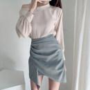 skirt Summer 2021 S,M,L Black, grayish blue Short skirt commute High waist Irregular stripe Type A 25-29 years old 81% (inclusive) - 90% (inclusive) other other Asymmetric, zipper Korean version 401g / m ^ 2 (inclusive) - 500g / m ^ 2 (inclusive)