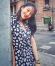 Dress Summer 2020 Navy Blue XS,S,M,L Short skirt V-neck High waist Decor 30-34 years old More than 95%