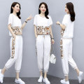 Fashion suit Summer 2021 M,L,XL,XXL,XXXL,4XL White, black Other / other 96% and above