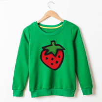 Sweater / sweater Qiqu clothing White, light gray, black, red, orange, yellow, light green, green, blue, decor neutral [size by letter], children s, children m, children L, children XL, children XXL, adults XS, adults s, adults m, adults L, adults XL, adults XXL winter nothing leisure time Socket
