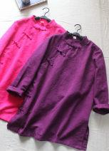 shirt White, deep purple, rose red Average size hemp 31% (inclusive) - 50% (inclusive)