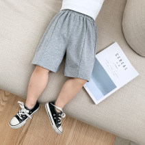 trousers McCarthy male 80cm,90cm,100cm,110cm,120cm,130cm Black, gray, blue, orange summer shorts leisure time There are models in the real shooting Casual pants Leather belt middle-waisted cotton Open crotch xk326 Chinese Mainland Zhejiang Province Huzhou City