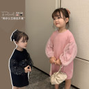 Dress Black, pink female Yoehaul / youyou 73cm,80cm,90cm,100cm,110cm,120cm,130cm Other 100% spring and autumn leisure time Long sleeves Solid color other Cake skirt 12 months, 6 months, 9 months, 18 months, 2 years old, 3 years old, 4 years old, 5 years old, 6 years old Chinese Mainland Huzhou City