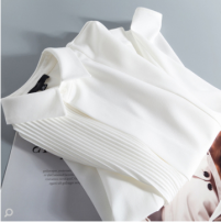 shirt white S,M,L Spring 2021 polyester fiber 96% and above