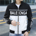 Jacket Other / other Youth fashion black M,L,XL,2XL,3XL routine Self cultivation Other leisure autumn Baseball collar tide teenagers zipper other Brand logo