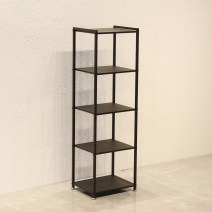 Clothing display rack Five layer shelf * l 50 W 40 h 160, shelf with side hanging * l 120 W 40 h 155 clothing iron Official standard