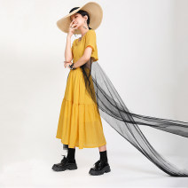 Fashion suit Summer 2020 S,M,L Black, yellow 18-25 years old Other / other 31% (inclusive) - 50% (inclusive) cotton