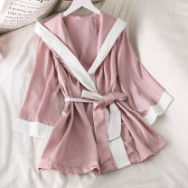 Pajamas / housewear set female Other / other Average size Suspender skirt, Nightgown other Sweet pajamas summer routine youth 2 pieces