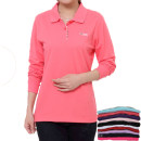 T-shirt Long sleeves Polo collar easy Regular routine commute cotton 86% (inclusive) -95% (inclusive) 30-39 years old Ol style Solid color Other / other