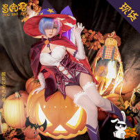 Cosplay women's wear suit Pre sale Over 14 years old REM Wansheng Animation, original L,M,S Succulent King A different world from scratch REM's Halloween