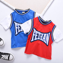 suit Mugwort Red, blue male summer leisure time Sleeveless + pants 2 pieces routine No model Socket nothing lattice cotton Class B Cotton 95% polyurethane elastic fiber (spandex) 5% Seven, eight, three, six, two, five, four, nine Chinese Mainland Zhejiang Province Wenzhou City