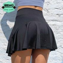 Sports skirt Black, blue, violet, pink, grayish blue Other / other female S (adult), m (adult), l (adult) polyester fiber