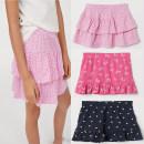 skirt 90 / 50 1.5-2 years old, 110 / 50 2-4 years old, 120 / 53 4-6 years old, 130 / 59 6-8 years old, 140 / 60 8-10 years old Dark blue, pink, light pink / heart HM female Cotton 95% polyurethane elastic fiber (spandex) 5% summer cotton