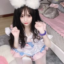 Cosplay women's wear skirt Pre sale Over 14 years old Animation, games Cute, maid, campus, Lolita M