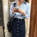 Fashion suit Autumn of 2019 Average size 1162 shirt, 1161 skirt s, 1161 Skirt M 18-25 years old 31% (inclusive) - 50% (inclusive)