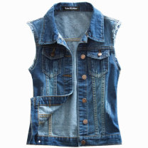 Vest Summer 2021 Version 307 - dark blue, version 307 - light blue, version 302 - dark blue, version 302 - light blue, version 303 - dark blue XS,S,M,L,XL,2XL,3XL,4XL,5XL,6XL have cash less than that is registered in the accounts Polo collar street Single breasted 31% (inclusive) - 50% (inclusive)