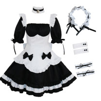 Cosplay women's wear suit goods in stock Over 14 years old Chocolate Maid Dress comic S. M, l, XL, one size fits all Meow nine Sen Chinese Mainland a gentle wind Spell back cosplay