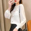 Fashion suit Spring 2020 S,M,L,XL Black jacket + black skirt suit, white jacket + black skirt suit, black one-piece jacket, white one-piece jacket 18-25 years old Xi can hand9669 51% (inclusive) - 70% (inclusive) nylon