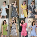 Dress Summer 2021 Starting with 10 pieces (multi-color and multi variety batch), 20 pieces (multi-color and multi variety batch), 50 pieces (multi-color and multi variety batch), 100 pieces (multi-color and multi variety batch), 100000 pieces (multi-color and multi variety batch) Short skirt commute